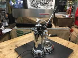 LA PAVONI LEVA MILANO 1 GROUP CHROME BRAND NEW ESPRESSO COFFEE MACHINE - picture7' - Click to enlarge
