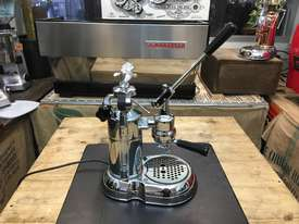 LA PAVONI LEVA MILANO 1 GROUP CHROME BRAND NEW ESPRESSO COFFEE MACHINE - picture8' - Click to enlarge