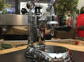 LA PAVONI LEVA MILANO 1 GROUP CHROME BRAND NEW ESPRESSO COFFEE MACHINE - picture9' - Click to enlarge