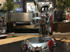 LA PAVONI LEVA MILANO 1 GROUP CHROME BRAND NEW ESPRESSO COFFEE MACHINE - picture11' - Click to enlarge