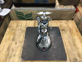 LA PAVONI LEVA MILANO 1 GROUP CHROME BRAND NEW ESPRESSO COFFEE MACHINE - picture12' - Click to enlarge
