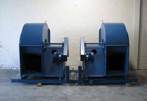 Twin Industrial Centrifugal Blower Fan - 1.4kW each