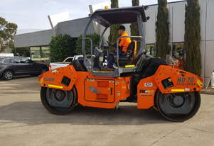 USED HAMM 7T TANDEM ROLLER WITH LOW 1400 HOURS