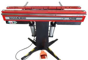 Power Operated MAGNABEND 1250mm x 1.6mm Electro magnetic Sheet Metal Folding Machine.