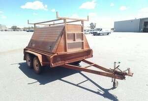 Custom Made Custom Enclosed Box Trailer