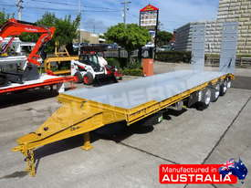 Interstate trailers Tri Axle Tag Trailer 28 Ton ATM Custom Yellow ATTTAG - picture0' - Click to enlarge