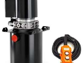 Powerpack Hydraulic 8 Litre - 12 Volt Double Acting Including Pendant Control - picture0' - Click to enlarge