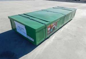 LOT # 0197 Single Trussed Container Shelter PVC