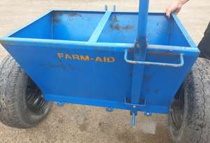 Farm-Aid 3 foot Dolomite Spreader