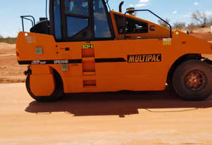 Multipac Multi Tyre roller