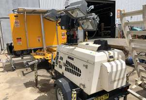 Used 2015 PR Powerower PR4000 4000 Watt Light Tower for Sale