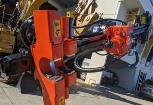 DT-E3 Excavator Attachment - Hydraulic Drilling Rig