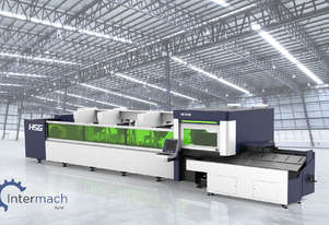 HSG TH65 1.5kW Fiber Laser Cutting Machine (IPG source, Alpha Wittenstein gear)