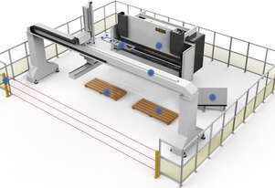 Deratech PRESS BRAKE with GANTRY ROBOT