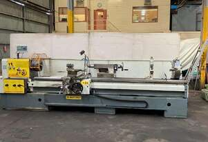 ZMM Mashtroy Lathe 103mm bore, 600 mm swing x 3000 mm centres with DRO