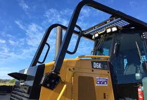 Caterpillar D6K II Forward Sweeps and Screens