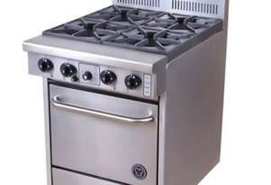 Goldstein PF420 - 4 Burner Gas Cook Top With Oven
