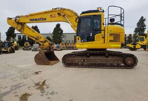 2018 KOMATSU PC228US-8 EXCAVATOR WITH LOW 2000