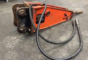 Used Rammer S21 Hydraulic Hammer to suit 1.3 to 3.2 Tonne Excavators