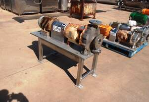 Centrifugal Pump (Stainless Steel), IN: 65mm Dia, OUT: 40mm Dia