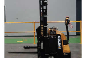Used 1.2T United Walkie Stacker NSP12EAS