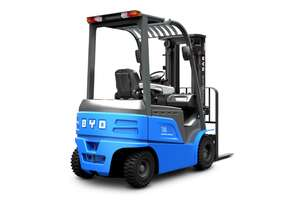 BYD ECB25 Lithium Battery Electric Counterbalance Forklift 5 year warranty End of Year Sale!!!
