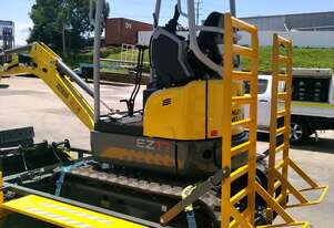 1.7T Excavator and Trailer Package