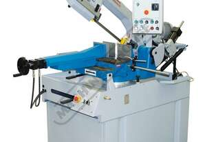 EB-351DSA Semi - Automatic, Swivel Head-Dual Mitre Metal Cutting Band Saw 2 Blade Speed 36 - 72mpm,