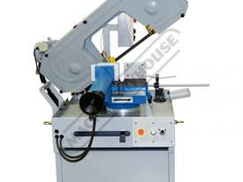 EB-351DSA Semi - Automatic, Swivel Head-Dual Mitre Metal Cutting Band Saw 345 x 205mm (W x H) Rectan - picture2' - Click to enlarge