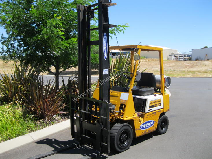 Used 1985 komatsu FG15-12 Counterbalance Forklift in , - Listed on