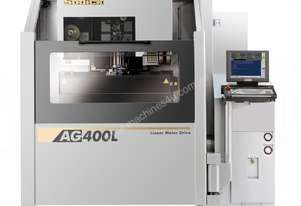 THE ULTIMATE IN MACHINING SPEED & ACCURACY AG400L/