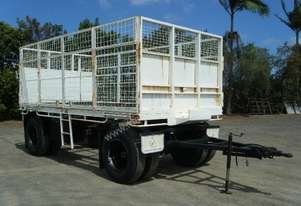 1993 FREIGHTER FLAT DECK DOG TRAILER