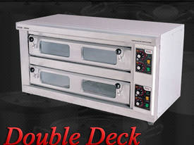 STONE BASED PIZZA OVEN - DOUBLE DECK - DDPO-40