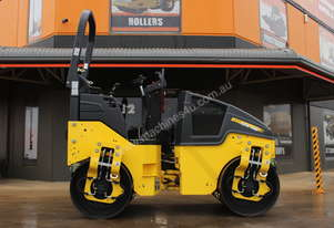 BOMAG 2.7T TWIN DRUM VIBRATING ROLLER UNUSED 2014