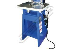 PN-130 Pneumatic Sheet Metal Notcher 120 x 120 x 3mm Mild Steel Capacity 120 x 120 x 1.5mm Stainless