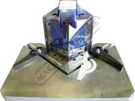 PN-130 Pneumatic Sheet Metal Notcher 120 x 120 x 3mm Mild Steel Capacity 120 x 120 x 1.5mm Stainless - picture4' - Click to enlarge