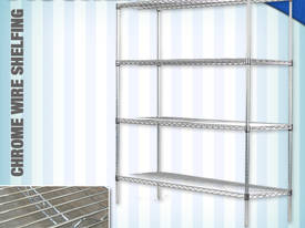 CHROME WIRE SHELF CS-900