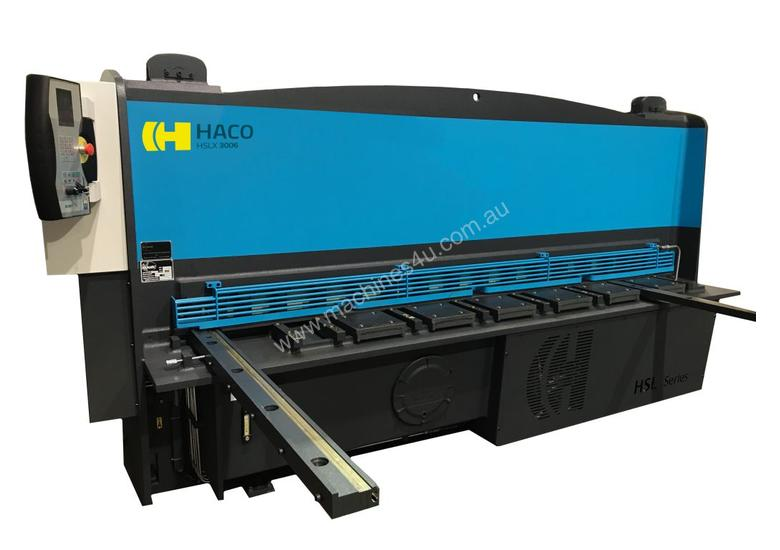 HACO HSLX3013 GUILLOTINE 3000mm x 13mm