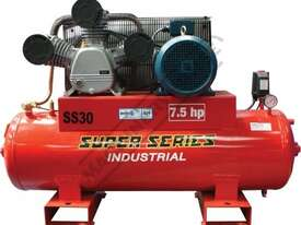 SS30 Industrial Air Compressor 150 Litre / 7.5hp 33cfm / 934lpm Displacement - picture0' - Click to enlarge
