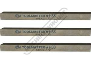 L0001 High Speed Steel Bits - Pack of 3 1/8