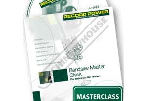 RPDVD01 Bandsaw Masterclass DVD with Alan Holtham Duration - 60min