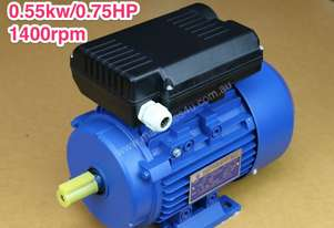0.55kw/0.75HP 1400rpm Electric motor single-phase