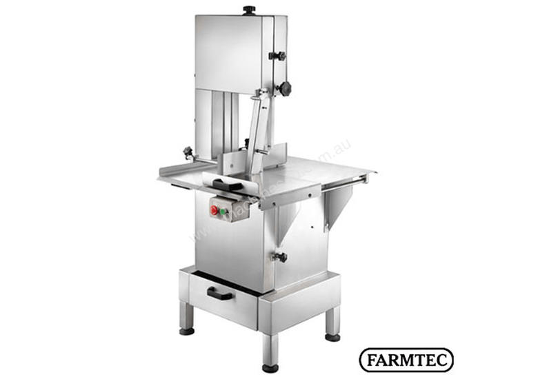 New Farmtec Meat Saw 800x590mm Table Stainless 2hp Meat