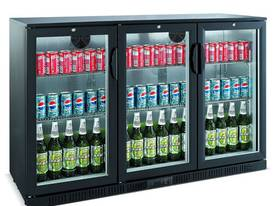 Bromic BB0330GD - Back Bar Glass Door Display Chiller - 307L (Hinged Door) - picture0' - Click to enlarge