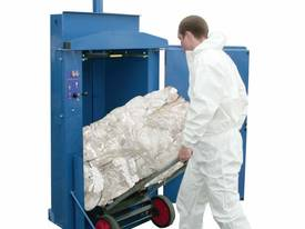 WastePac 75 Cardboard Baler      - picture3' - Click to enlarge