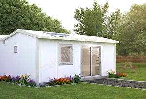 Flat Pack 2x Bedroom Cabin 5.85M X 6.5M