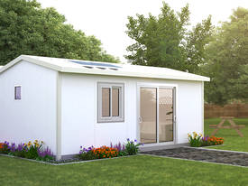 Flat Pack 2x Bedroom Cabin Fully Insulated