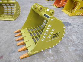 2017 SEC 12ton Sieve Bucket CAT312 - picture1' - Click to enlarge