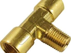'T' Piece Air Fittings 1/4