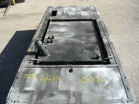MACHINERY SKID BASE FUEL TANK/300LITRES - picture1' - Click to enlarge